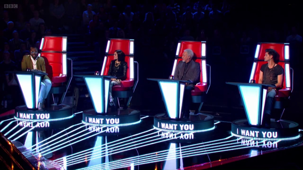 The Voice UK   Coaches Chair Control